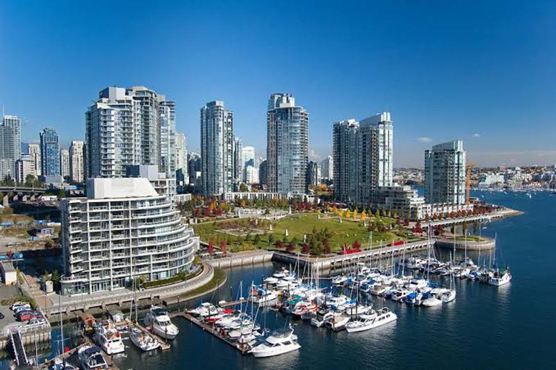 Região de Yaletown em Vancouver