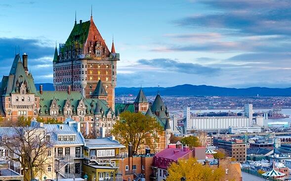 Excursão para Quebec City saindo de Montreal