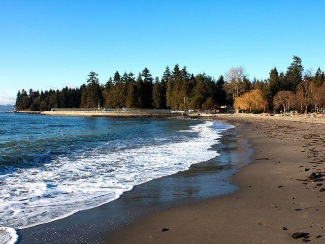 Praias em Vancouver