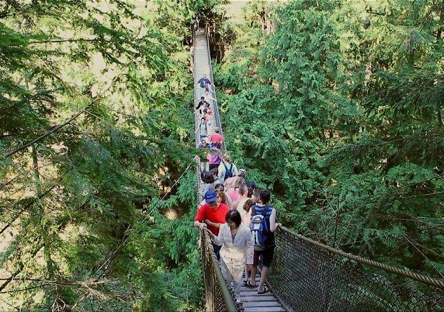 Lynn Canyon Park em Vancouver