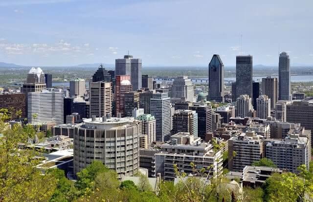 Tour de helicóptero em Montreal