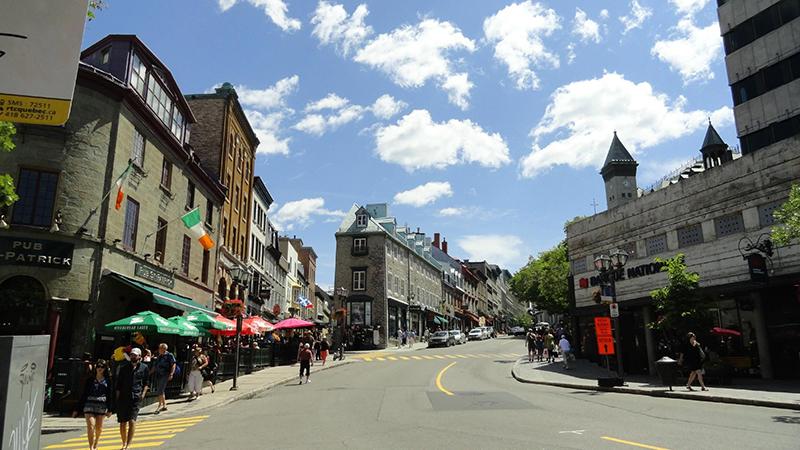 Bairro Haute Ville em Quebec