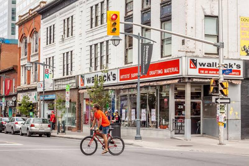 Bairro de Centretown em Ottawa