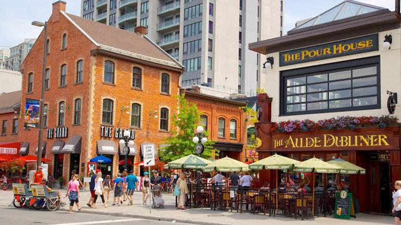 Região do ByWard Market em Ottawa