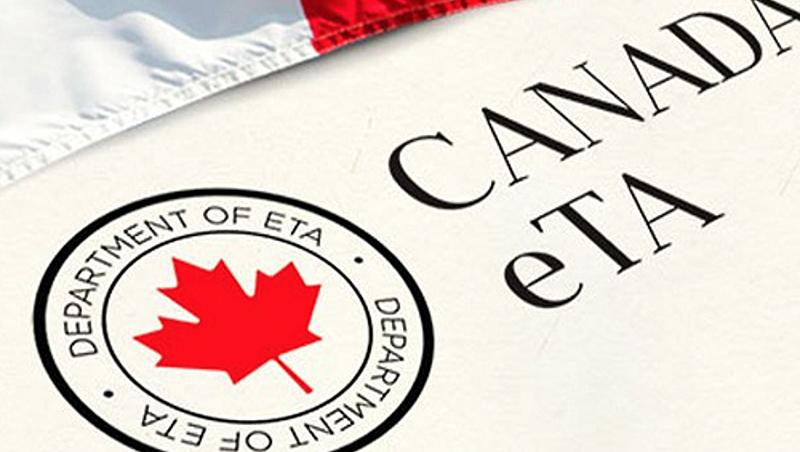 Autorização Eletrônica de Viagem (eTA) para o Canadá
