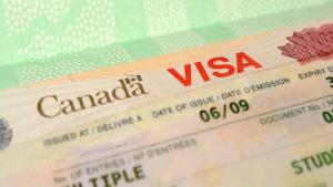 Apresentar visto válido na imigração do Canadá