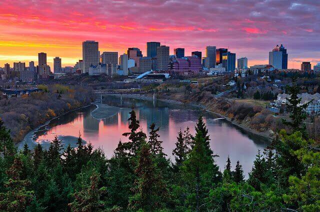 Como andar em Edmonton