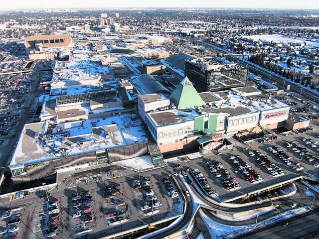 Shoppings e Outlets em Edmonton