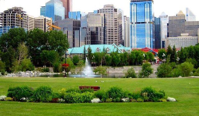 Pontos turísticos em Calgary