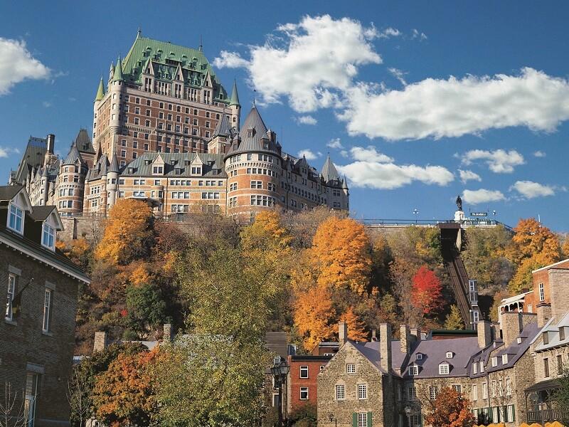 Château Frontenac em Quebec