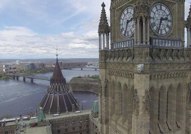 Peace Tower em Ottawa