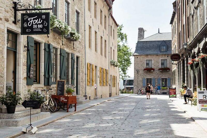 Excursão guiada a pé em Quebec