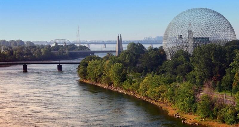 Cidade de Montreal no Canadá