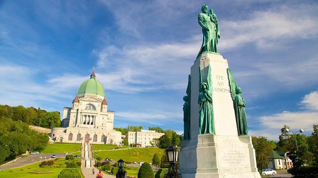 Fachada do Oratório de São José em Montreal