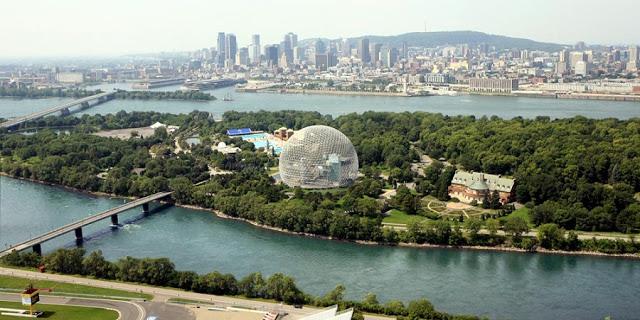 Parque Jean Drapeau em Montreal