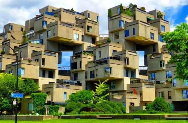 Habitat 67 em Montreal