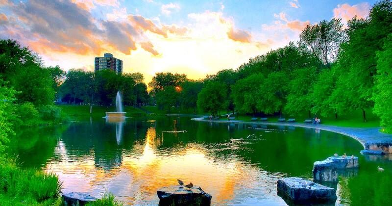 Fontaine Park em Montreal