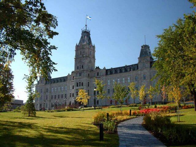 Hôtel du Parlement em Quebec City