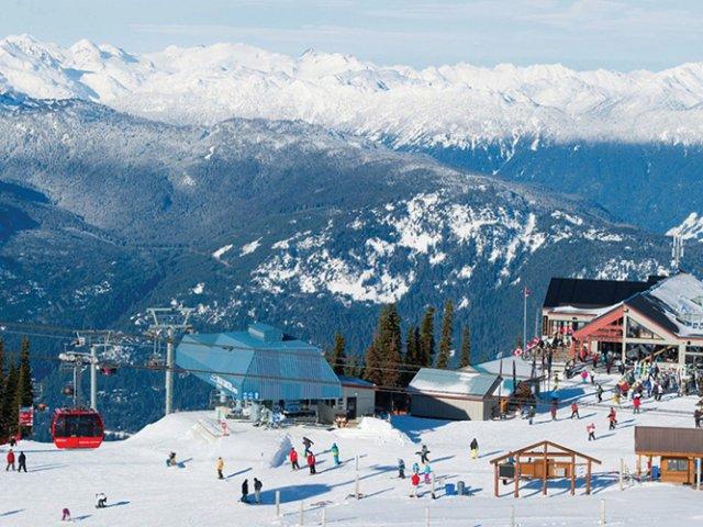 Cidade de Whistler no Canadá