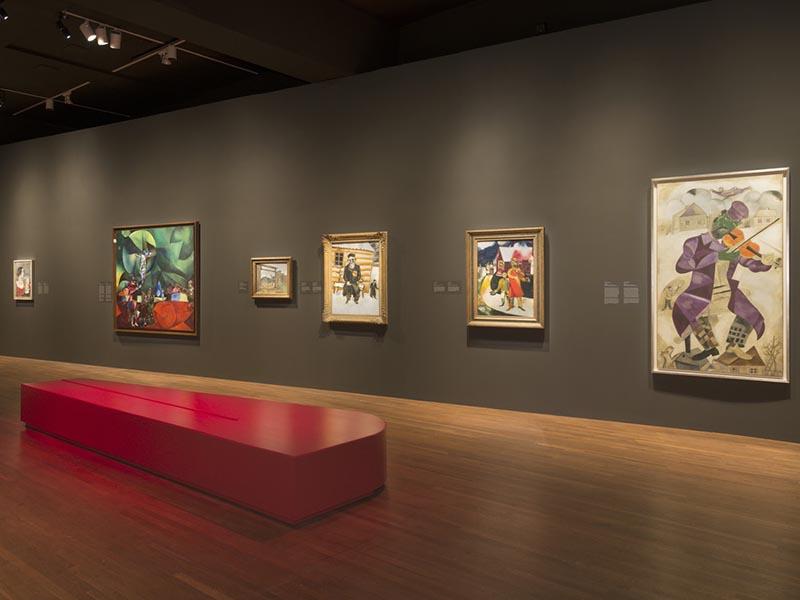 Obras de Chegall no Montreal Museum of Fine Arts