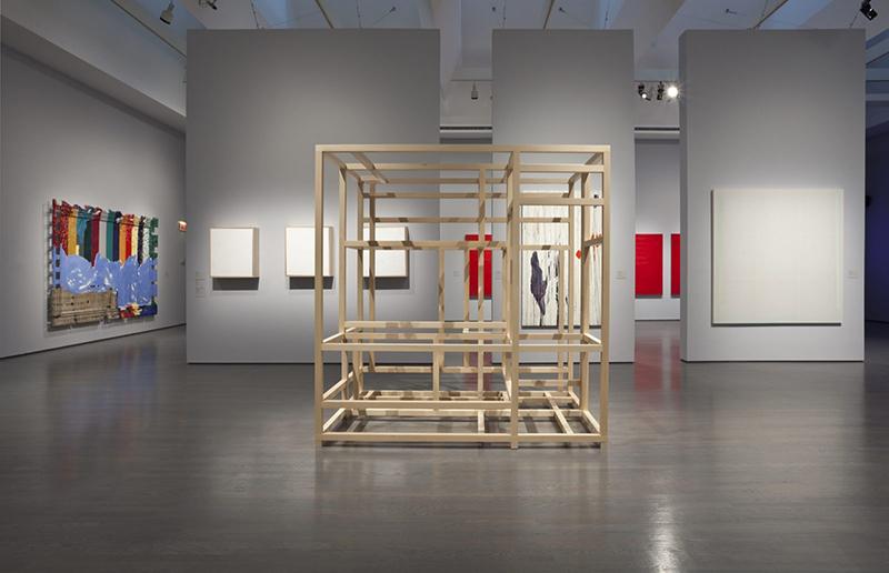 Obra Matter of Abstraction no Museu de Arte Contemporânea em Montreal