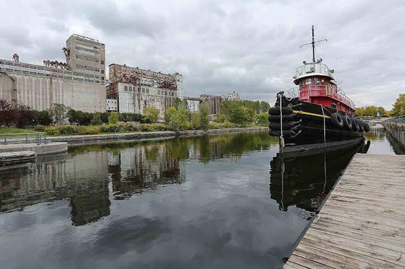 Monumentos do Canal Lachine em Montreal