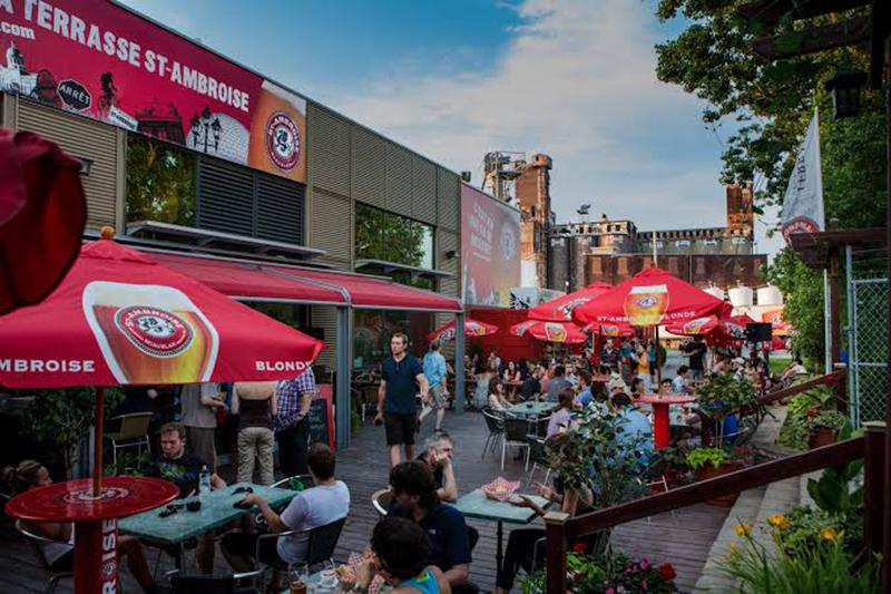 Exterior da Cervejaria McAuslan em Montreal