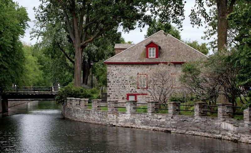 Museu Fur Trade no Canal Lachine em Montreal