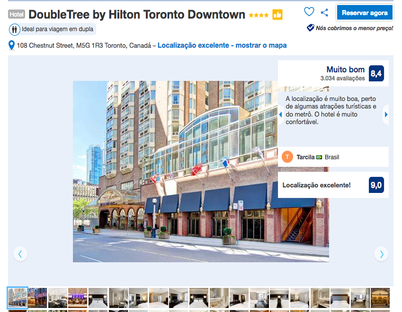 Reservas no DoubleTree by Hilton Toronto Downtown