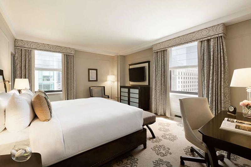 Fairmont Hotel em Vancouver Quarto