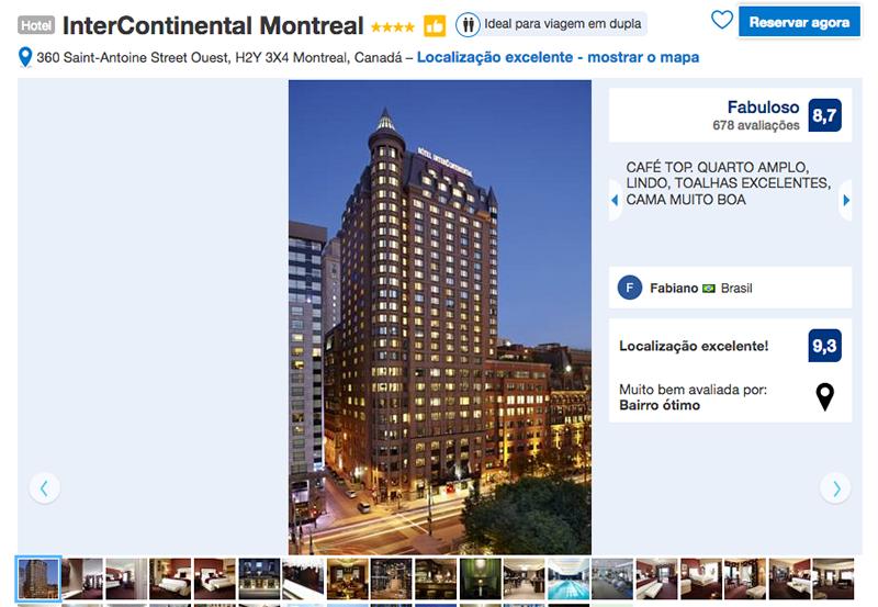 Reservas Hotel InterContinental em Montreal