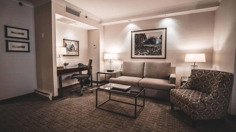 Quarto do Hotel Lord Elgin em Ottawa