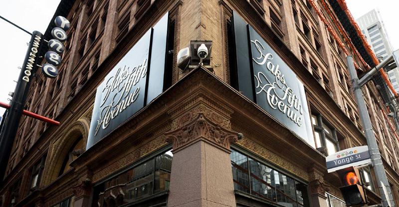 Saks Fifth Avenue em Montreal
