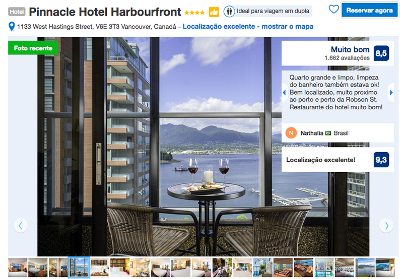 Reservas Pinnacle Hotel Harbourfront em Vancouver