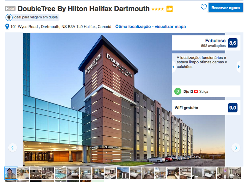 Hotel DoubleTree By Hilton em Halifax