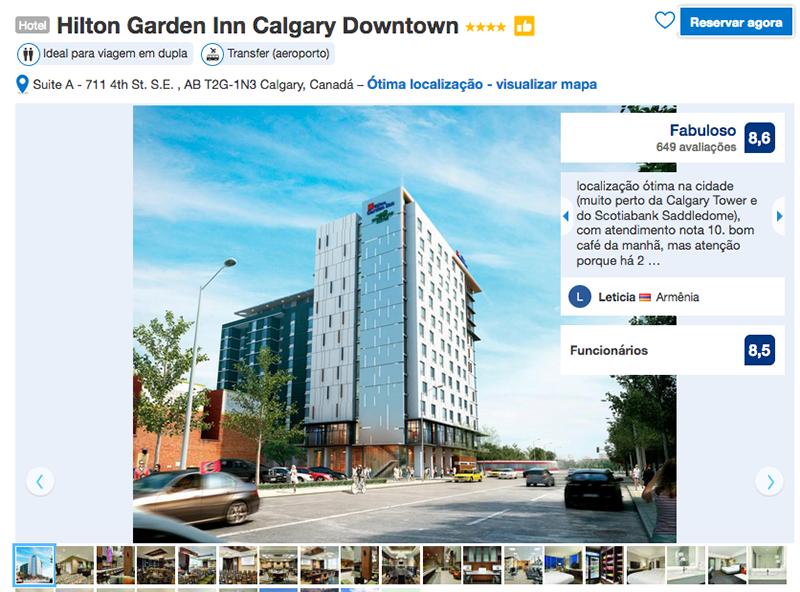 Hilton Garden Inn Downtown em Calgary
