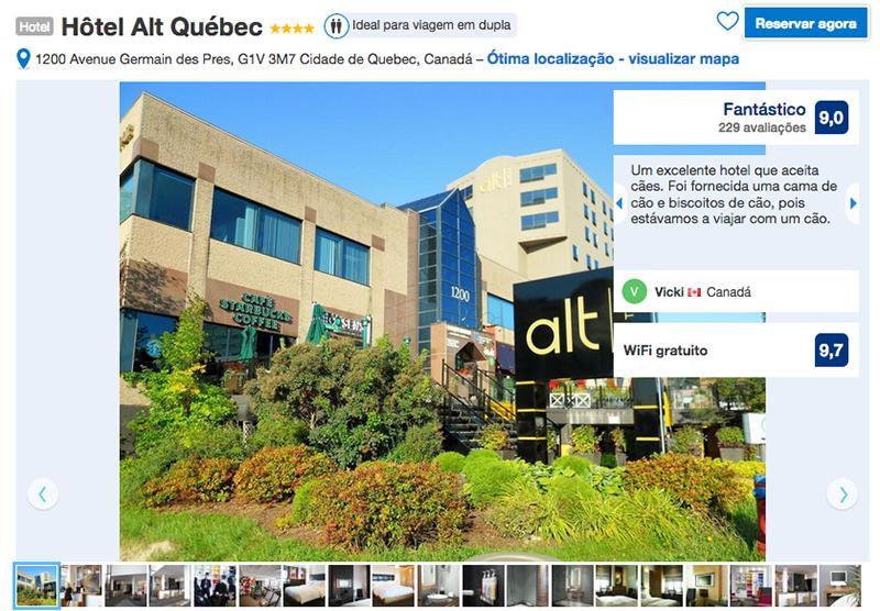 Hôtel Alt em Quebec
