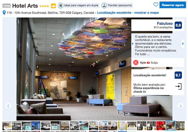 Hotel Arts em Calgary