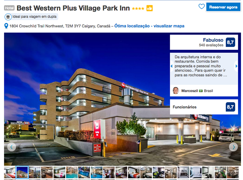 Hotel Best Western Plus Village Park Inn em Calgary