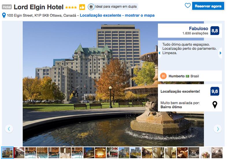 Hotel Lord Elgin em Ottawa