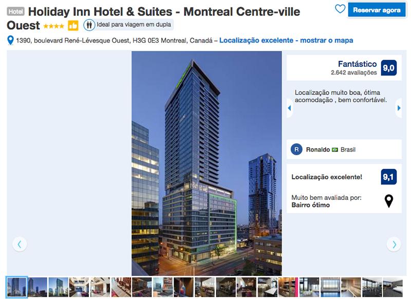 Reservas Holiday Inn Hotel & Suites em Montreal