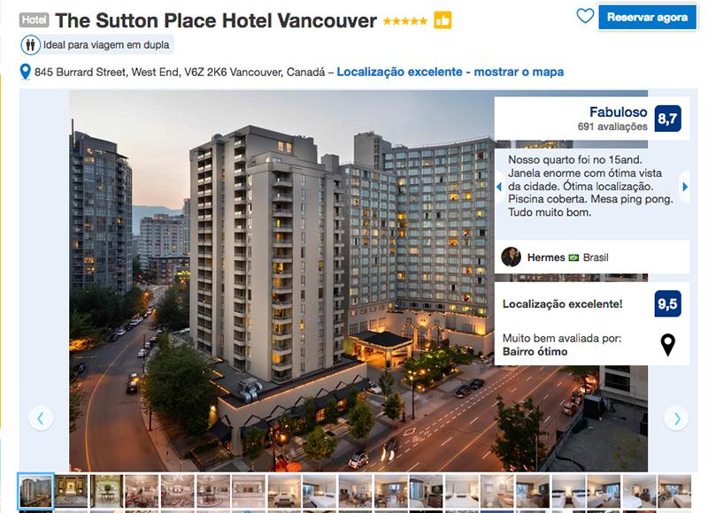The Sutton Place Hotel em Vancouver