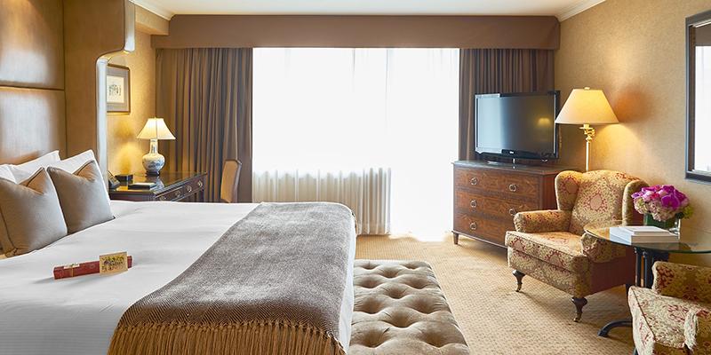 Wedgewood Hotel & Spa em Vancouver Quarto