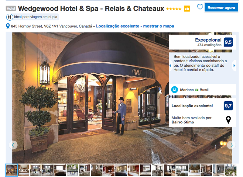 Wedgewood Hotel & Spa em Vancouver