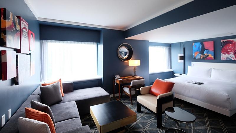 Suíte do Hotel Fairmont The Queen Elizabeth em Montreal