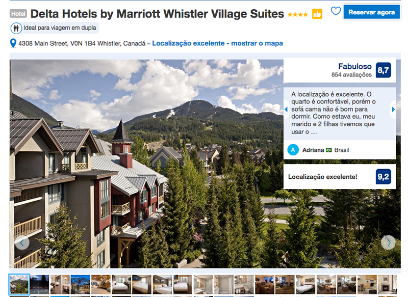 Reservas Delta Hotels by Marriott Village Suites em Whistler
