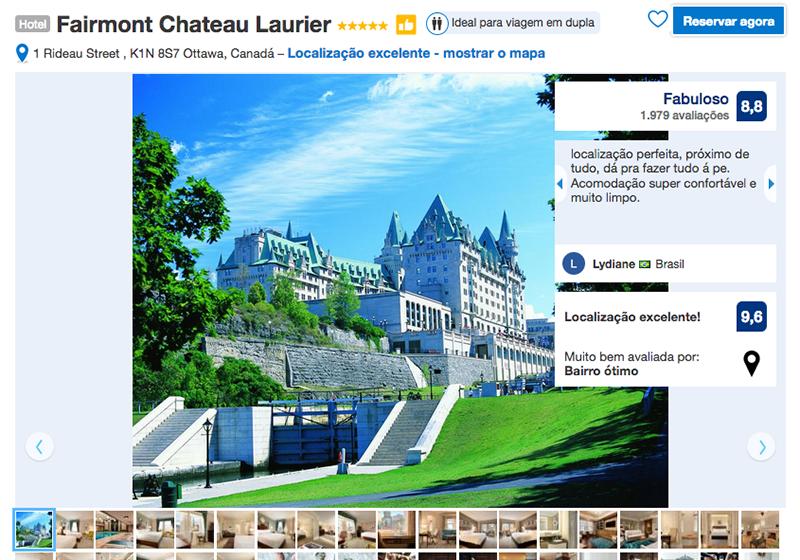 Reservas Hotel Fairmont Chateau Laurier em Ottawa