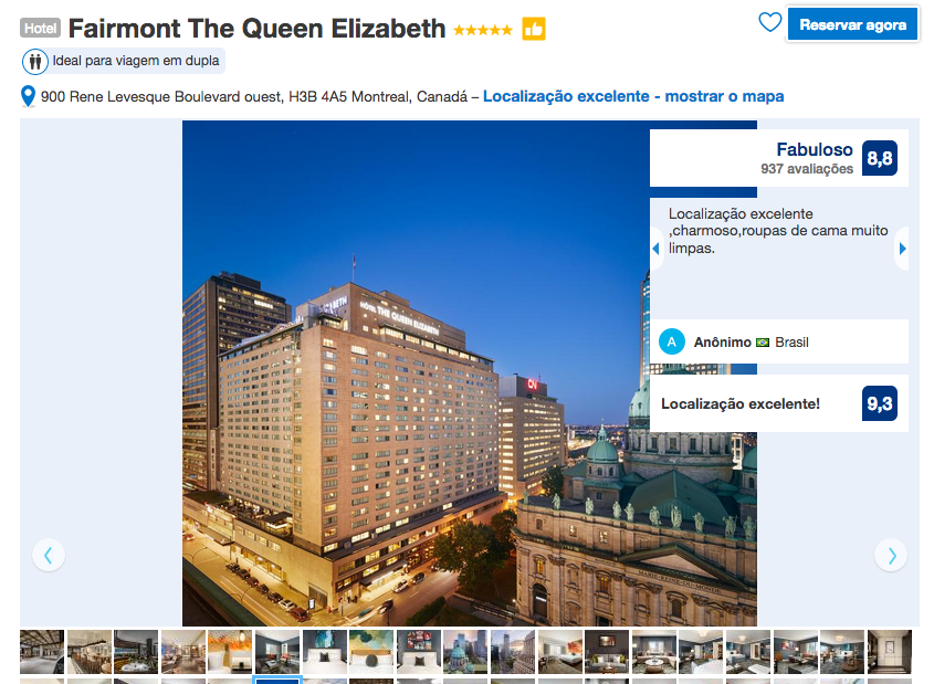 Hotel Fairmont The Queen Elizabeth em Montreal