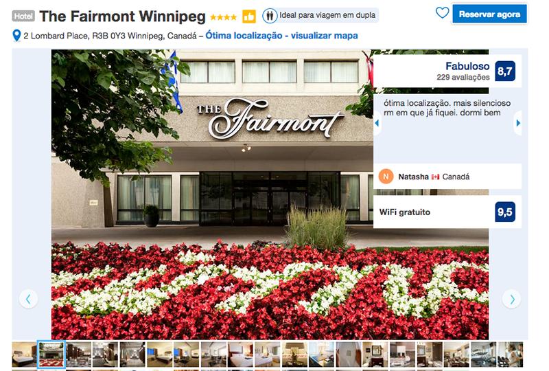 Reservas Hotel The Fairmont em Winnipeg