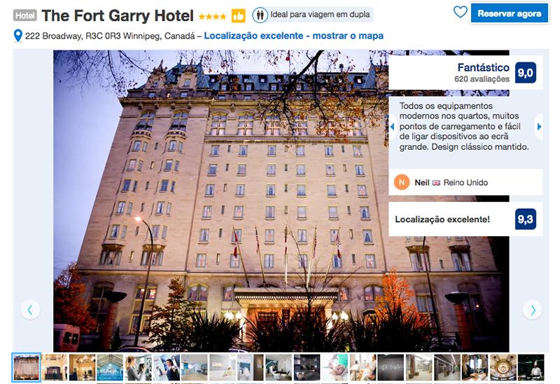 Reservas Hotel The Fort Garry em Winnipeg